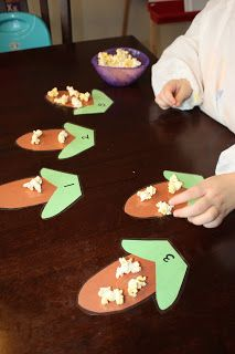 Popcorn counting ~ Teaching, Training & Tantrums
