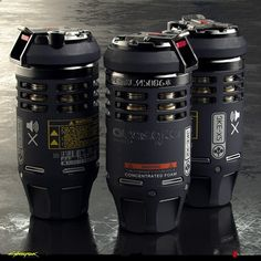 ArtStation - Grenades Original Concepts - Cyberpunk 2077, Filippo Ubertino Sci Fi Weapons, Weapon Concept Art, Fantasy Weapons, Airsoft, Hero Poster, Hard Surface Modeling, Future Weapons, 3d Model Character, Star Wars Rpg