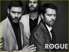 Supernatural's Jared Padalecki, Jensen Ackles, & Misha Collins Do First…