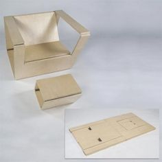 Design on This Old House Folding Furniture, Metal Folding Chairs, Space Saving Furniture, Plywood Furniture, Cool Furniture, Furniture Design, Origami Furniture, Furniture Dolly, Furniture Assembly