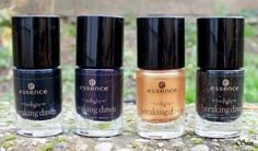 Nail Polishes of Essence LE Breaking Dawn Part 2