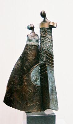 Wiesvandort | Bronzen beelden