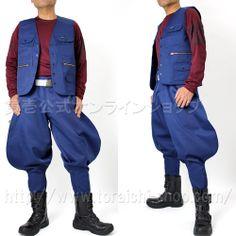Toraichi 2530-611 Vest 2530-401 Toraichi 7-bu pants