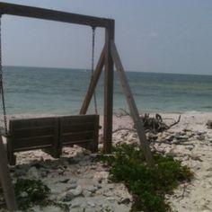 Honeymoon beach state park. Florida.