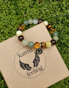 Karma Feeling Healing Crystal Bracelet! Via The Style Rawr.