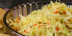 Chef Michael Smith's Spicy Coleslaw (pair with Pulled Pork Sandwich, or Burgers!)