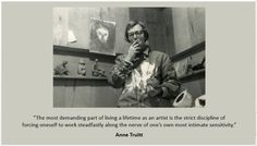 Anne Truitt Artist Quotes, Woman Quotes, Illustration, Artists, Women, Quotes By Women, Women's, Illustrations, Wife Quotes
