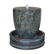 Walmart: Alpine Fiberglass Modern Floral Fountain with LED Light