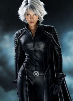 Halle Berry as Storm. she's awesome.