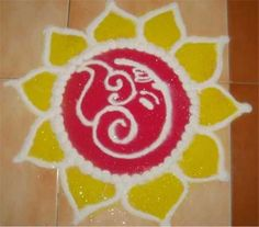 Ganesh Rangoli Designs For Diwali 2014 - 201 Rangoli Patterns For Diwali 2014