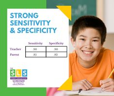 Check out the technical excerpt on the Reliability and Validity of the Student Language Scale (SLS) Screener for Language & Literacy Disorders. Developmental Disabilities, Dyslexia, Sensitivity, Writing Skills, Speech And Language, Special Education, Disorders, Curriculum, Literacy