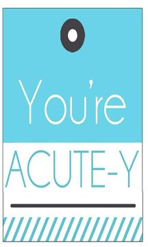 printable tag for Acute Care samples - feel free to share!