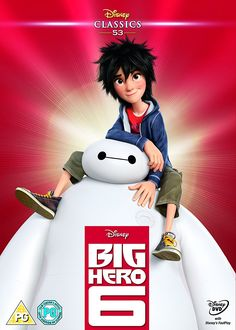 Big Hero 6 2014 Limited Edition Artwork Sleeve DVD: Amazon.co.uk: DVD & Blu-ray