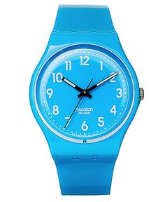 We're having a blue moment, Swatch