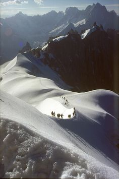 Stunning and a bit scary but worth every minute: Aiguille du Midi, Alps - France Places Around The World, The Places Youll Go, Places To See, Around The Worlds, Chamonix Mont Blanc, Belle France, Rhone, Adventure Is Out There, The Great Outdoors