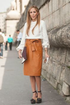 Street Style at Spring 2014 Paris Fashion Week - PFW Street Style Pictures