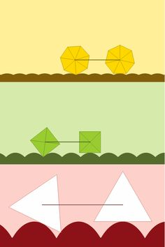 """"""" A smooth straight-line ride is not possible on triangular wheels: its wedges would cut into the ground. """""""