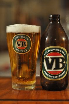 victoria bitter or vb as it more commonly known