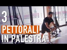 Aumentare massa PETTORALI / Potenziare il petto in PALESTRA - YouTube