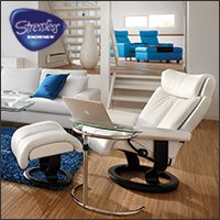 Ekornes Stressless Seating  Visit Copenhagen Imports at  7211 South Tamiami Trail, Sarasota, FL 34231 Monday-Saturday 10:00–6:00 • Sunday Noon–5:00 or online at www.Copenhagen-Imports.com