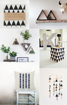 How to Add the Geometric Look ! Geometric decor ideas for your house.