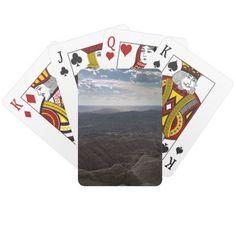 badlands national park South Dakota Poker Cards