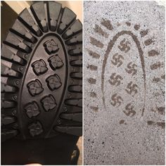 You're not accidentally leaving behind nazi symbolism wherever you walk.