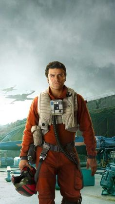 Poe Dameron! One of my favorite characters in Star Wars even though he didn't do a lot in the movie he seems like a pretty nice guy! But the best of all he's a good pilot and is the prowd owner of BB-8!