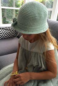 crochet * zomerhoedje (Ak at home) Love Crochet, Crochet For Kids, Beautiful Crochet, Crochet Baby, Knit Crochet, Crochet Summer, Summer Hats, Winter Hats, Baby Wraps