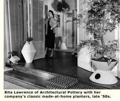 rita lawrence architectural pottery