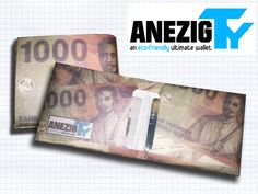 AnezigTY - en eco-friendly ultimate wallet made using Tyvek  for detail and purchasing, please kindly find out on twitter bio @ANEZIGstreet