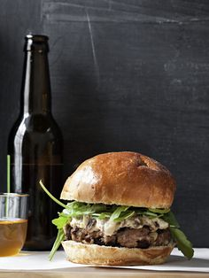 Love blend's gourmet hamburger - omg, yum.  Love a gourmet burger...