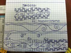 (2012-08) Swoosh tangle pattern by texasdoxiemama