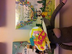 Paper Plate Hat to go along with Millie's Marvellous Hat by Satoshi Kitsmura. A brilliant book about imagination with beautiful illustrations.