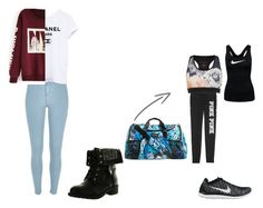 """""""Untitled #9"""" by imcrazyisthatokay on Polyvore featuring River Island, Refresh, Vera Bradley, Ted Baker and NIKE"""