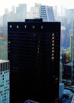 Wayne industries... #wayne #batman