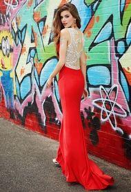 Swirl Illusion Back Dress