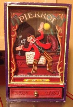 PIERROT DE PIERRE KOJI MURAI JEWELRY MUSIC BOX DANCING CIRCUS