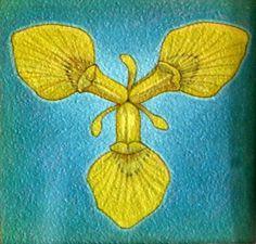 Gele Lis Torensma Sacred Geometry, Iris, Painting, Calendar, Kunst, Irise, Irises, Painting Art, Paintings