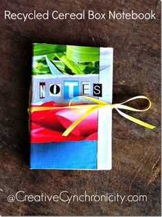 recycled-cereal-box-notebook