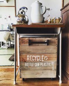 100均で買えるあの液であっという間に古材風に?古材風塗装をマスターして簡単ゴミ箱を作ろう! LIMIA (リミア)