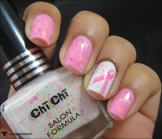Pink Friday- Breast Cancer Awareness Nail art by crazypolishes.com I am gonna wear pink manis all fridays this month to spread awareness about breast cancer.  http://www.crazypolishes.com/2014/10/pink-friday-breast-cancer-awareness.html #bcaware #breastcancerawareness #pinkfridays #pinkribbon #nailart #notd #nailstamping