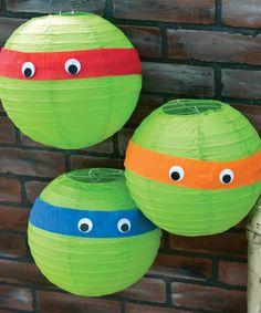 Teenage Mutant Ninja Turtle Paper Lanterns