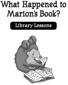 Activities And Discussion Prompts School Library LessonsKindergarten