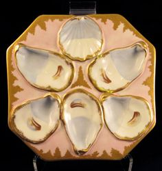 19th century French oyster platter