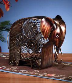 Deco Breeze DBF0373 Elephant Figurine Decorative Electric Fan