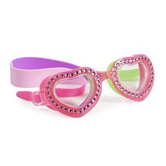 47f51b5680e2 Swimming Goggles For Girls Je TAime Kids Swim Goggles By Bling2o Punch Pink  * To view