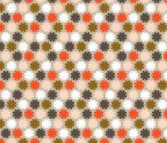 Fleurir: stuffed olive fabric by nadiahassan on Spoonflower - custom fabric