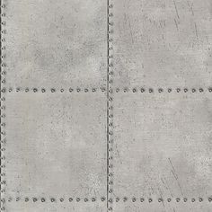 "Brewster Home Fashions 33' x 20.5"" Metal Texture Wallpaper"