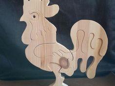Wooden 3D #jigsaw #puzzle. http://www.1-2-do.com/de/projekt/Oster-Gockel/bastelanleitung/6021/